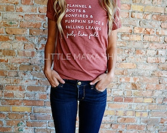 Pumpkin Spice Shirt | Fall Graphic Tee | Fall Shirts | Fall Shirts for Women | Unisex | Autumn Shirts | Women's Fall Shirt | Shirts for Fall