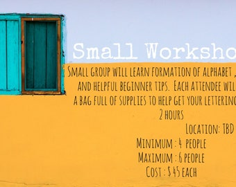 Small group workshop