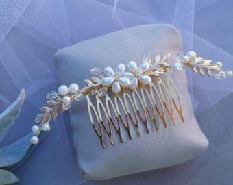 Wedding Hair Accessories, Bridal Hair Comb, Hair Comb, Flower Hair Comb, Wedding Hair Accessory, Hair Accessory