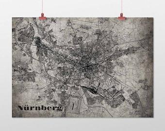 Nuremberg - A4 / A3 - print - OldSchool