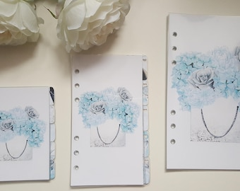 Register for Filofax Pocket staff or A5 size dividers organisers