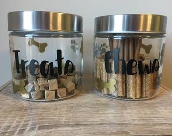 DIY Treat Jar Decal Kit