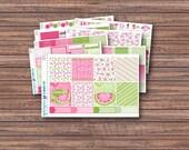 Juicy Weekly Kit | Summer Planner Stickers | ECLP | Happy Planner | Recollections Planner | Weekly Planner Stickers