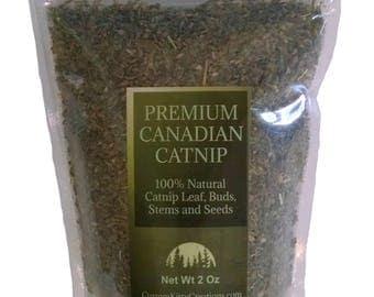 Catnip 2oz - 16oz  Fresh Premium Canadian Catnip