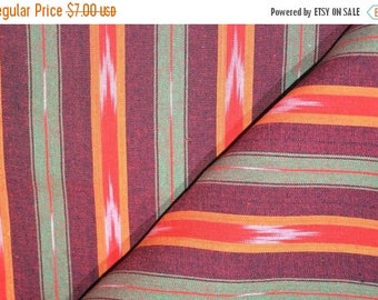 10% Off On Multicolor Ikat Fabric