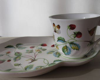 Vintage Gift James Kent 'Old Foley'  Tea Cup and Serving Plate. Collectable. Vintage Tea Ware.  James Kent Vintage Tea Cup and large Saucer