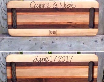 Personalized double handle server