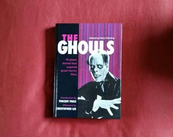 Peter Haining (ed) - The Ghouls (Chancellor Press 1994) - Vincent Price, Christopher Lee, Bram Stoker, Ray Bradbury, H.P. Lovecraft