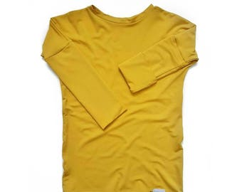 Grow with me Shirt [18 months - 4 years] Bamboo | Yellow