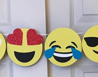 Banner Emoji faces only
