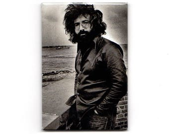 Jerry Garcia - Black and White Magnet