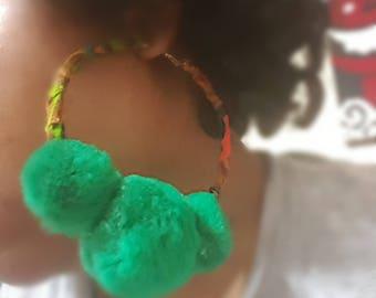 If It Ain't About The Money big hoop earrings