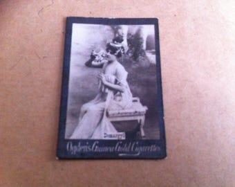 "Vintage Ogdens Guinea Gold Rare cigarette card Demargyl 1900s 2"" x 11/2"""