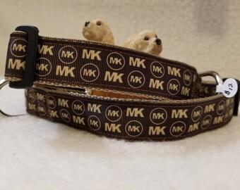 Handmade Dog Collar 1 Inch Wide Large & Medium