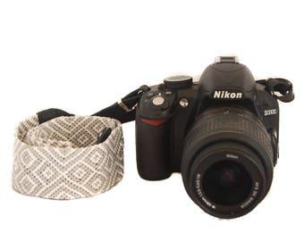 Camera Strap - Grey Classic