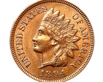 1894 Indian Head Cent - Choice BU / MS / Unc