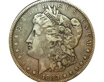 1893 O Morgan Silver Dollar - VF / Very Fine