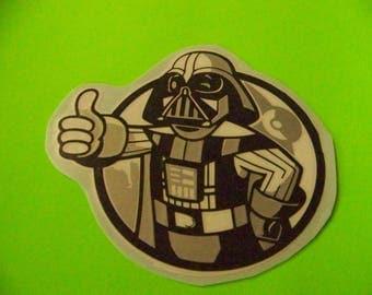 6in Star Wars Darth Vader Decal