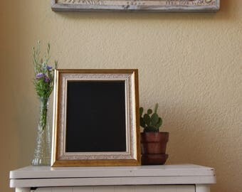 Antique Gold Framed Chalkboard