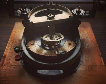 Very rare working Geniatus Index Typewriter from  1928 (serial 11563 )