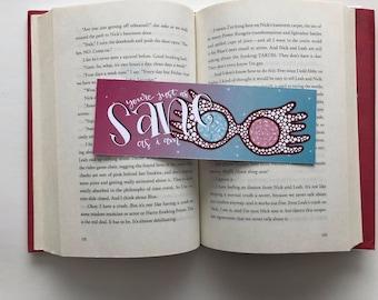 Luna Lovegood - Glasses Bookmark