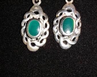 Sterling Silver Celtiv knot earrings (E05)