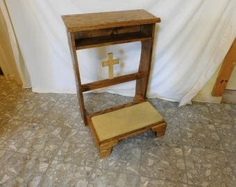 Prayer bench, kneeler
