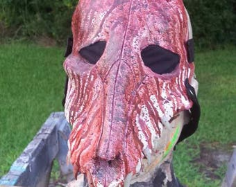 Horror Bloody Wolf Mask