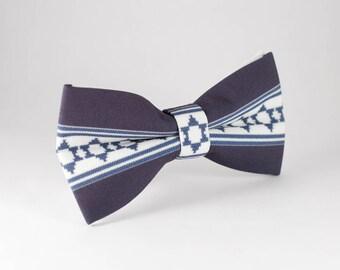 Men BowTie, Rustic Bow Tie, Navy Blue bow tie, Handmade Bow Tie, Wedding BowTie, Rustic wedding, Mens bowties, Bowties mens, Jewish wedding