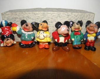 Mickey Mouse 2inch Ceramic Figures