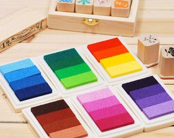 Ink pads/Ink pad 4 pieces per package in various colors listed here