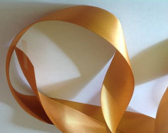 Golden double sided ribbon no160