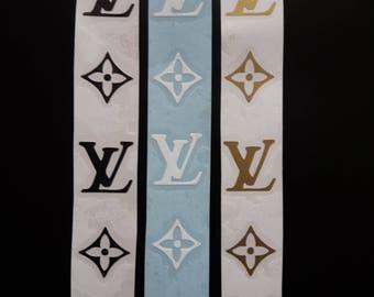 LV  logo decal