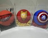Kids Surprise SuperHero BathBomb-Natural Organic Handmade Kids Bath Bomb-Marvel SuperHero Figure Bath Bomb-Avengers-Civil War Figures Inside