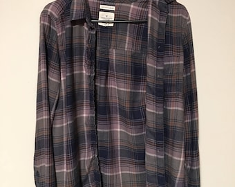 90s style flannel