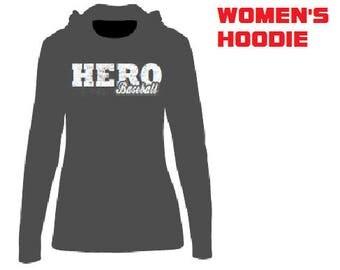 HOLLIDAY EAGLES BASEBALL: Ladies Hoodies