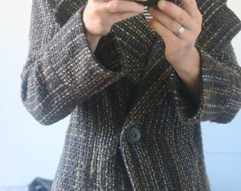 Buttoned jacket wool H & M