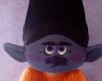 Trolls Branch, Trolls Party, Foam Headdress, Trolls Branch Costume