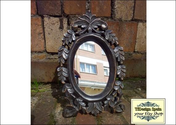 Makeup mirror, Standing mirror desk, Standing mirror dressing table, Standing mirror oval, Standing mirror small, Standing mirror wood 26 cm