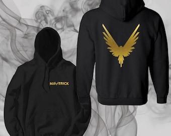 Maveric gold hoodie bird Official Team 10 Official Unisex Shirt shirt Tie-Dye