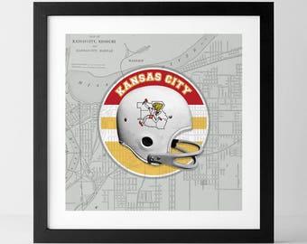 Vintage NFL: Kansas City Chiefs-inspired