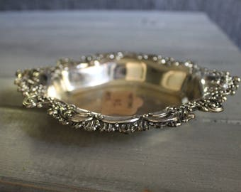 Small Silver Plated Bowl