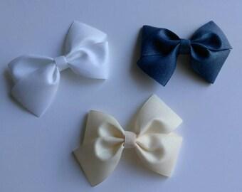 School hair bows, Pigtail bows, uniform hair bows, khaki hair bows, back to school glitter hair bows, solid hair bows, pinwheel hair bow