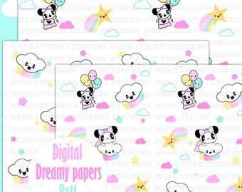 Dreamy Digital Papers