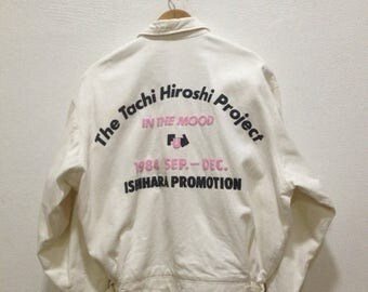 ON SALE 20% Vintage 80s TETE Homme Katoh Kazutaka Jacket Size L Fashion Designer Rei Kawakubo Junya Watanabe Issey Miyake Kansai Kansai Yama