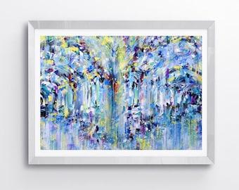 Art print, abstract wall art, colourful wall art prints, original painting, wall art, contemporary art, abstract art prints, modern art