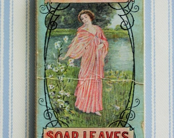 Victorian Soap Leaves Booklet