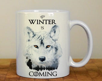 Winter is Coming mug, Game of Thrones