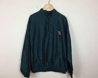 80s Track Jacket, Iridescent Jacket, Surf Jacket, Pullover Jacket