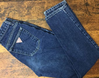 80s Guess Jeans, 27, high waisted, Mom Jeans